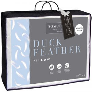 Duck Feather V-Shaped Pillow